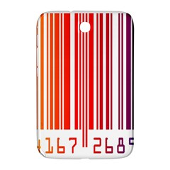 Colorful Gradient Barcode Samsung Galaxy Note 8.0 N5100 Hardshell Case