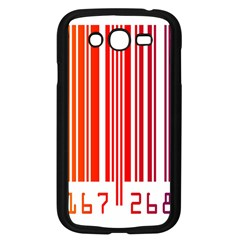 Colorful Gradient Barcode Samsung Galaxy Grand DUOS I9082 Case (Black)