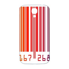 Colorful Gradient Barcode Samsung Galaxy S4 I9500/I9505  Hardshell Back Case