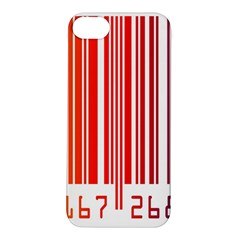 Colorful Gradient Barcode Apple iPhone 5S/ SE Hardshell Case