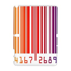 Colorful Gradient Barcode Galaxy Note 1