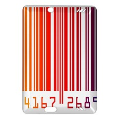 Colorful Gradient Barcode Amazon Kindle Fire HD (2013) Hardshell Case