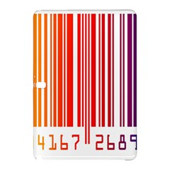 Colorful Gradient Barcode Samsung Galaxy Tab Pro 12.2 Hardshell Case