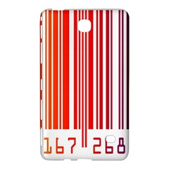 Colorful Gradient Barcode Samsung Galaxy Tab 4 (8 ) Hardshell Case