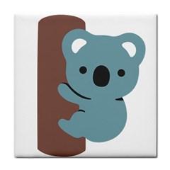 Animal Koala Tile Coasters
