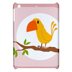 Yellow Bird Tweet Apple iPad Mini Hardshell Case