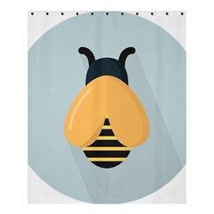 Animals Bee Wasp Black Yellow Fly Shower Curtain 60  X 72  (medium)