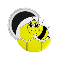 Bee Wasp Yellow 2 25  Magnets
