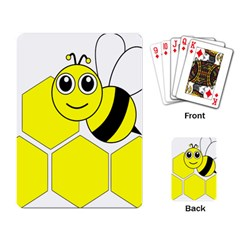 Bee Wasp Yellow Playing Card