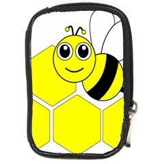 Bee Wasp Yellow Compact Camera Cases