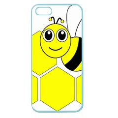 Bee Wasp Yellow Apple Seamless Iphone 5 Case (color)