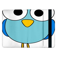 Bird Big Eyes Blue Samsung Galaxy Tab Pro 12.2  Flip Case