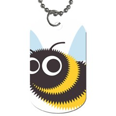 Bee Wasp Face Sinister Eye Fly Dog Tag (one Side)