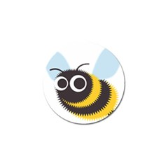 Bee Wasp Face Sinister Eye Fly Golf Ball Marker (10 Pack)