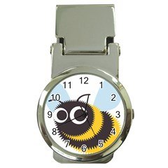 Bee Wasp Face Sinister Eye Fly Money Clip Watches