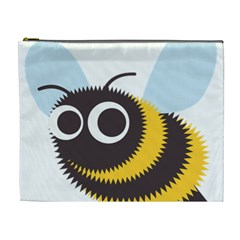 Bee Wasp Face Sinister Eye Fly Cosmetic Bag (XL)