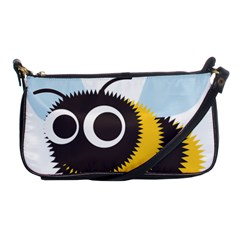 Bee Wasp Face Sinister Eye Fly Shoulder Clutch Bags