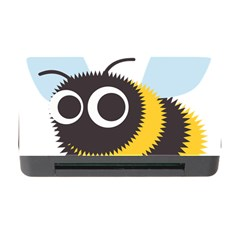 Bee Wasp Face Sinister Eye Fly Memory Card Reader with CF