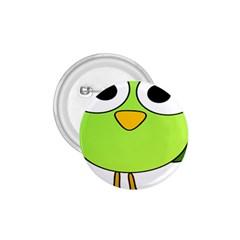 Bird Big Eyes Green 1 75  Buttons