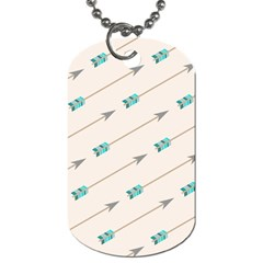 Arrow Quilt Dog Tag (one Side)