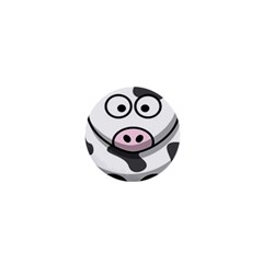 Animals Cow  Face Cute 1  Mini Buttons