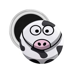 Animals Cow  Face Cute 2 25  Magnets