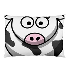 Animals Cow  Face Cute Pillow Case