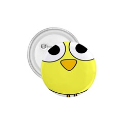 Bird Big Eyes Yellow Green 1 75  Buttons