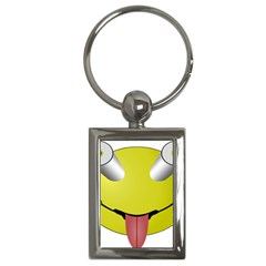 Bug Eye Tounge Key Chains (rectangle)