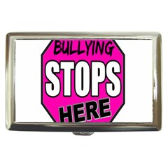 Bullying Stops Here Pink Sign Cigarette Money Cases