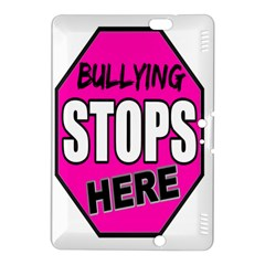 Bullying Stops Here Pink Sign Kindle Fire HDX 8.9  Hardshell Case
