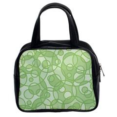 Pattern Classic Handbags (2 Sides)