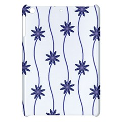 Geometric Flower Seamless Repeating Pattern With Curvy Lines Apple iPad Mini Hardshell Case