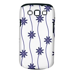 Geometric Flower Seamless Repeating Pattern With Curvy Lines Samsung Galaxy S III Classic Hardshell Case (PC+Silicone)