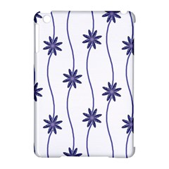 Geometric Flower Seamless Repeating Pattern With Curvy Lines Apple iPad Mini Hardshell Case (Compatible with Smart Cover)