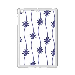 Geometric Flower Seamless Repeating Pattern With Curvy Lines iPad Mini 2 Enamel Coated Cases