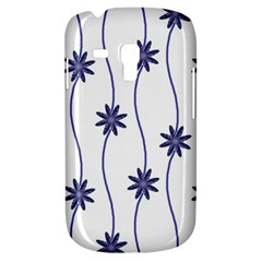 Geometric Flower Seamless Repeating Pattern With Curvy Lines Galaxy S3 Mini