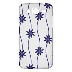 Geometric Flower Seamless Repeating Pattern With Curvy Lines Samsung Galaxy Mega 5.8 I9152 Hardshell Case