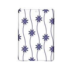 Geometric Flower Seamless Repeating Pattern With Curvy Lines Ipad Mini 2 Hardshell Cases