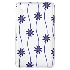 Geometric Flower Seamless Repeating Pattern With Curvy Lines Samsung Galaxy Tab Pro 8 4 Hardshell Case