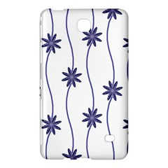 Geometric Flower Seamless Repeating Pattern With Curvy Lines Samsung Galaxy Tab 4 (7 ) Hardshell Case
