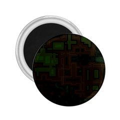 Circuit Board A Completely Seamless Background Design 2.25  Magnets