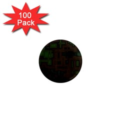 Circuit Board A Completely Seamless Background Design 1  Mini Magnets (100 Pack)