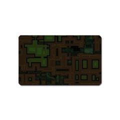 Circuit Board A Completely Seamless Background Design Magnet (name Card)