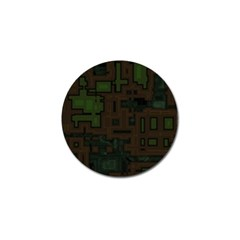 Circuit Board A Completely Seamless Background Design Golf Ball Marker (4 Pack)