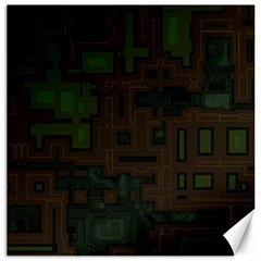Circuit Board A Completely Seamless Background Design Canvas 20  X 20