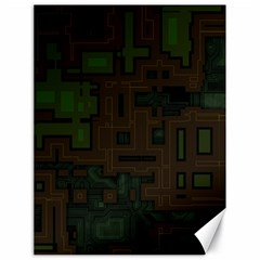 Circuit Board A Completely Seamless Background Design Canvas 18  x 24
