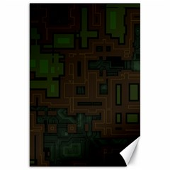 Circuit Board A Completely Seamless Background Design Canvas 20  X 30