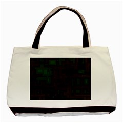 Circuit Board A Completely Seamless Background Design Basic Tote Bag (two Sides)