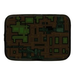 Circuit Board A Completely Seamless Background Design Netbook Case (medium)